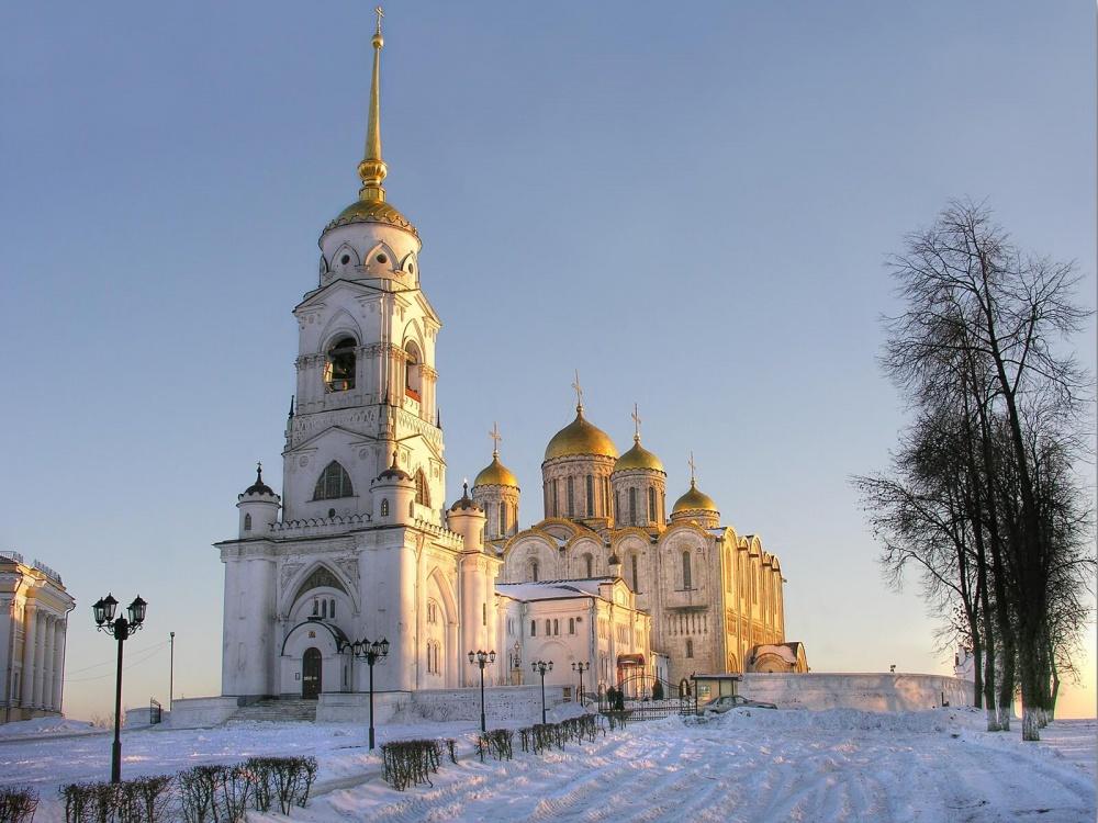 Туристам будут показывать белокаменные соборы  и Владимирского тяжеловоза